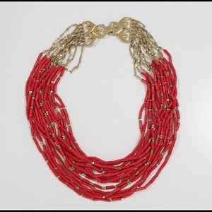 Stella & Dot Campari necklace